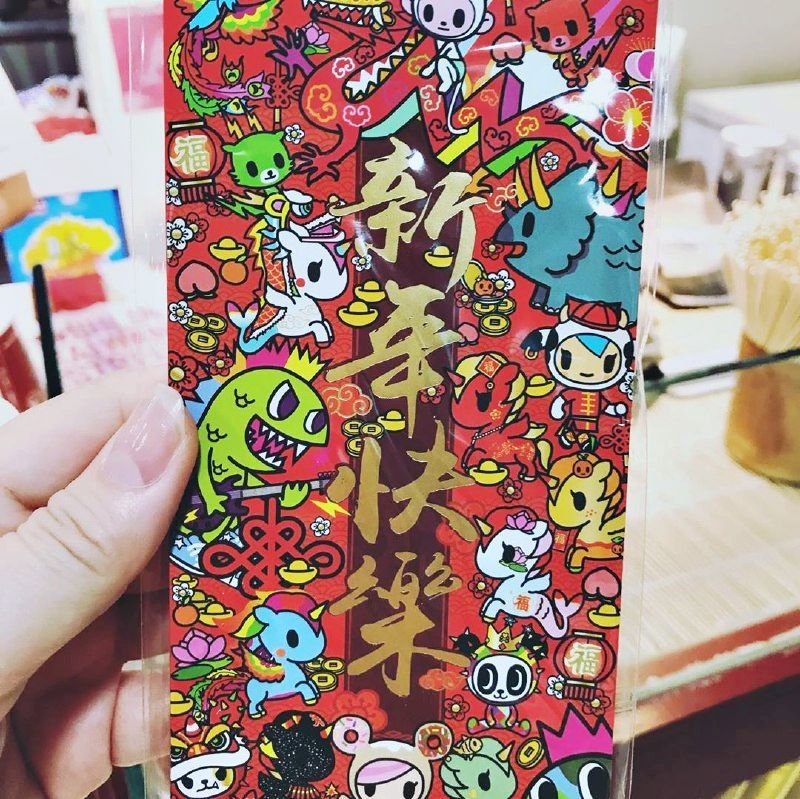 Tokidoki red packet Shihlin Snacks