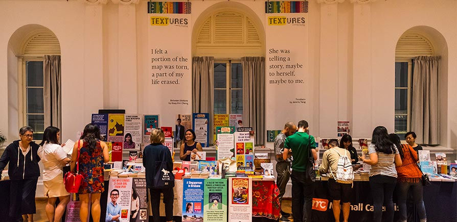 Things to do in March 2020: flex your literary muscles at Textures 2020