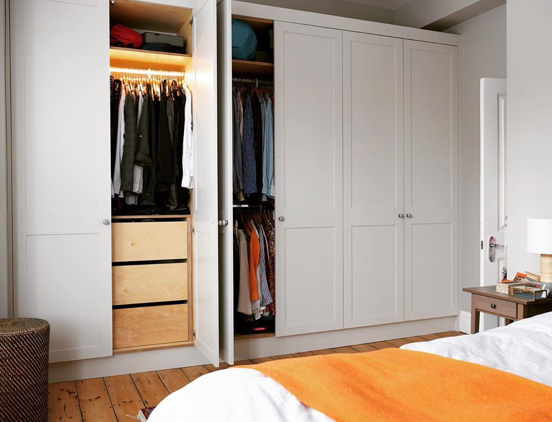 You would have to decide if you want a built-in wardrobe prior to renovating your BTO, as it is not an replaceable household item