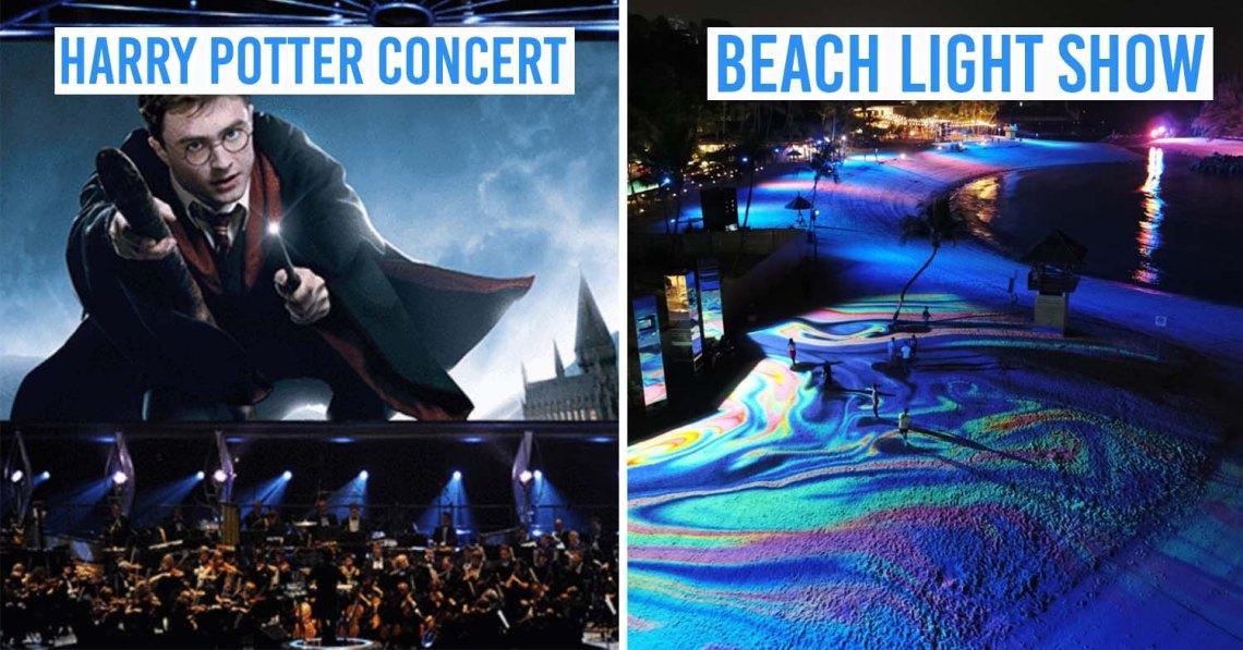 harry potter concert beach sentosa