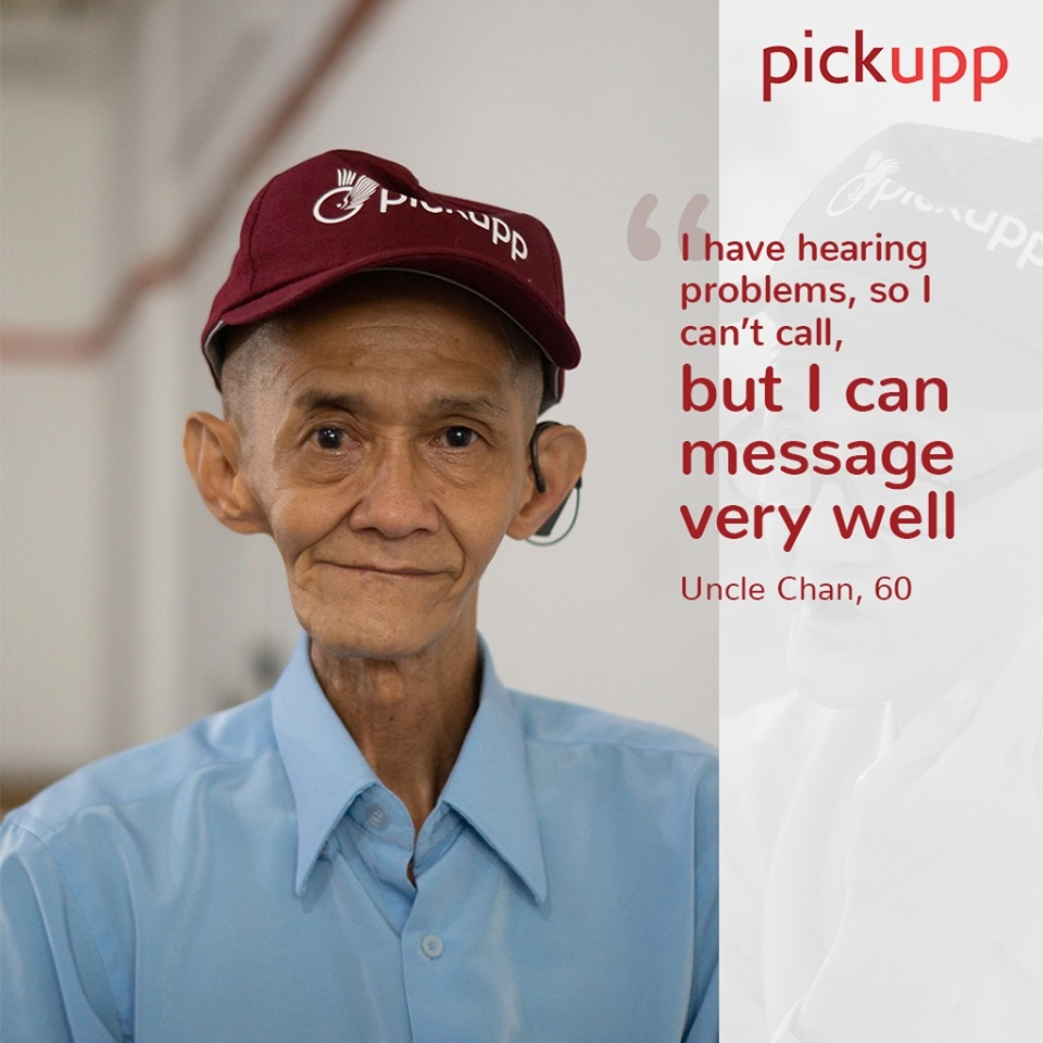 pickupp.io delivery staff with hearing impairment