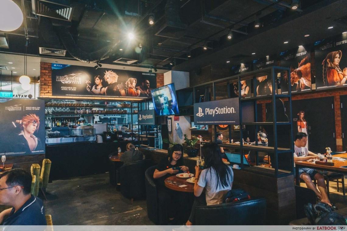 New restaurant - Final Fantasy