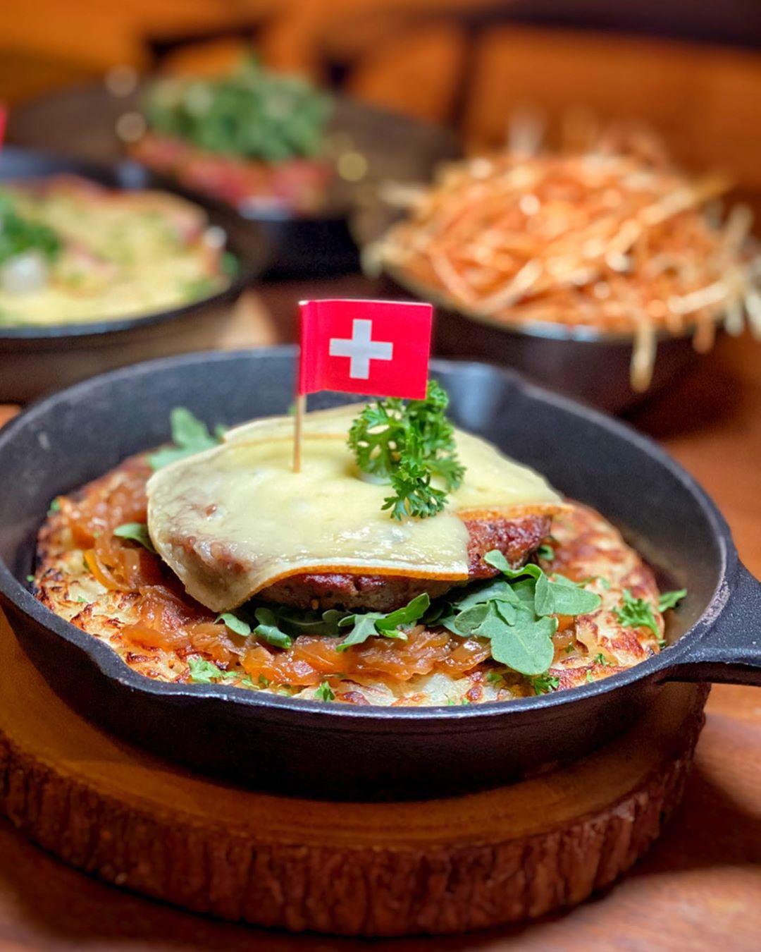 New restaurants Coucou - Swiss food