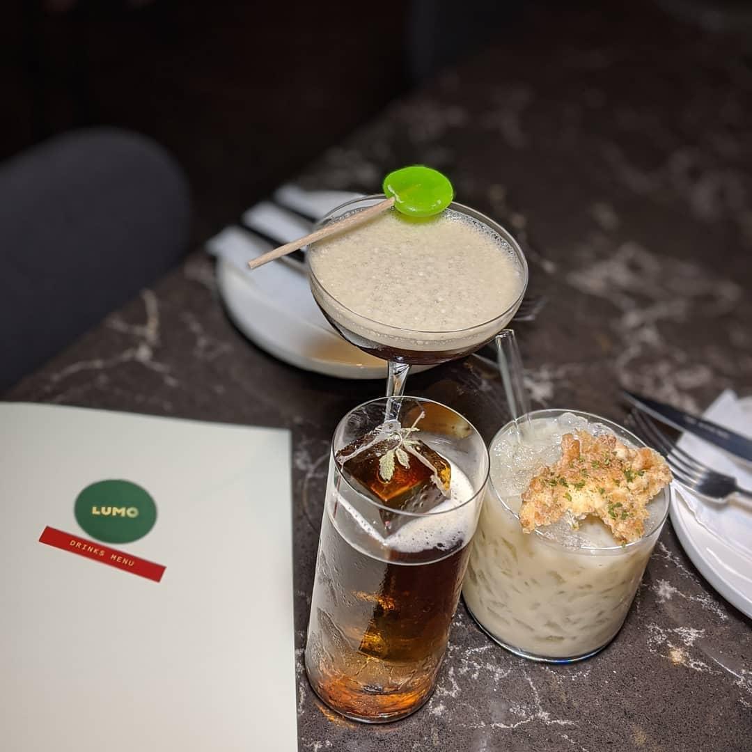 New restaurants - Lumo cocktails