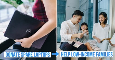 donate laptops to low income families volunteer
