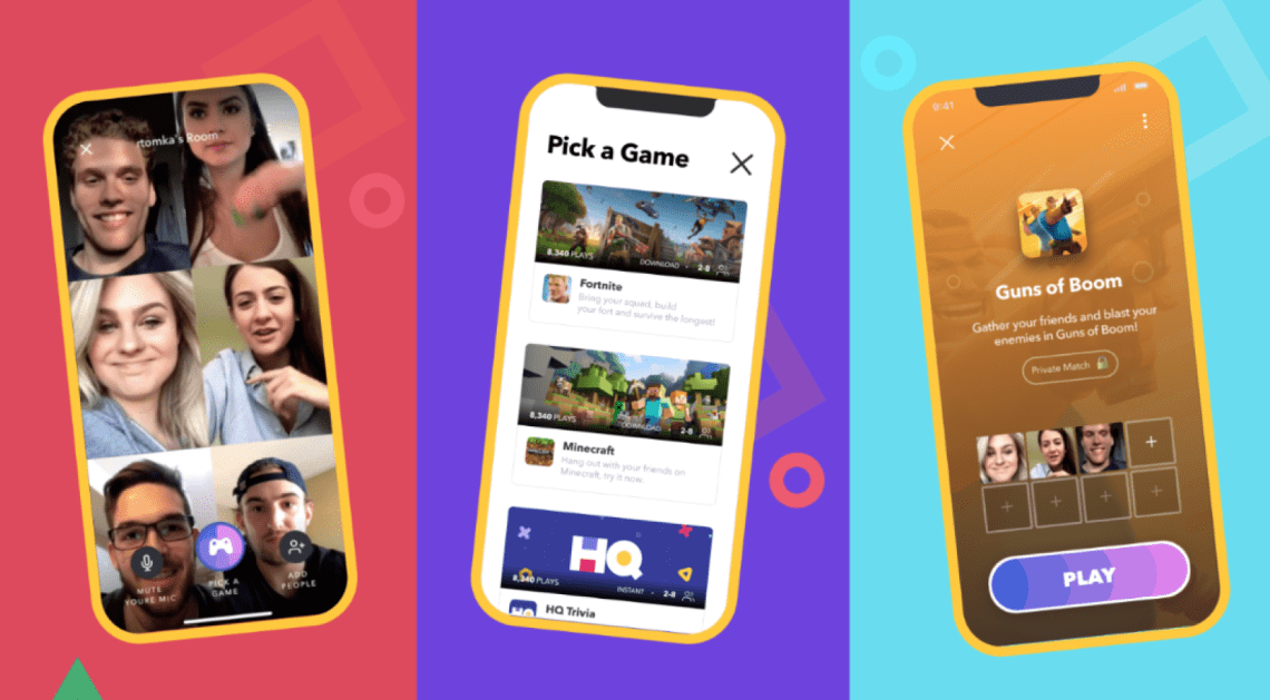 Bunch is a gaming-centric video calling app in Singapore that allows you to kick back with friends online.