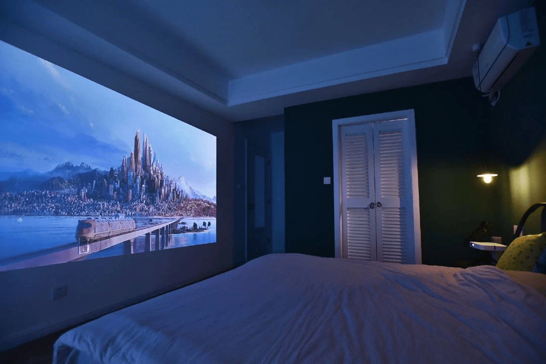 The Lumos Auro is a full-sized home cinema setup that offers great value as one of the best home projectors in Singapore.