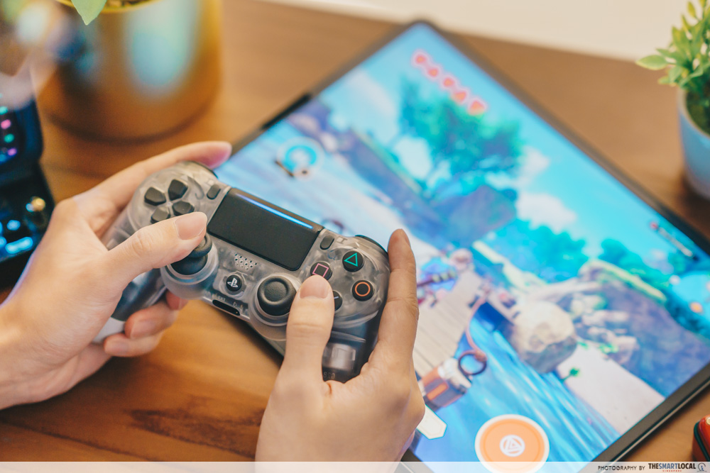 gaming controllers with ipad