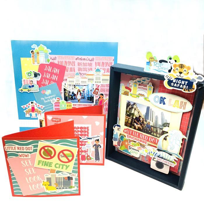 Papercraft SG-themed kits - online art supplies stores