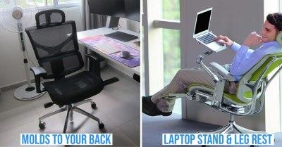 ergonomic chair cover image