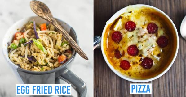 10 Savoury Mug Recipes Under 10 Minutes For Lazy People Who Want Minimal Prep And Clean Up