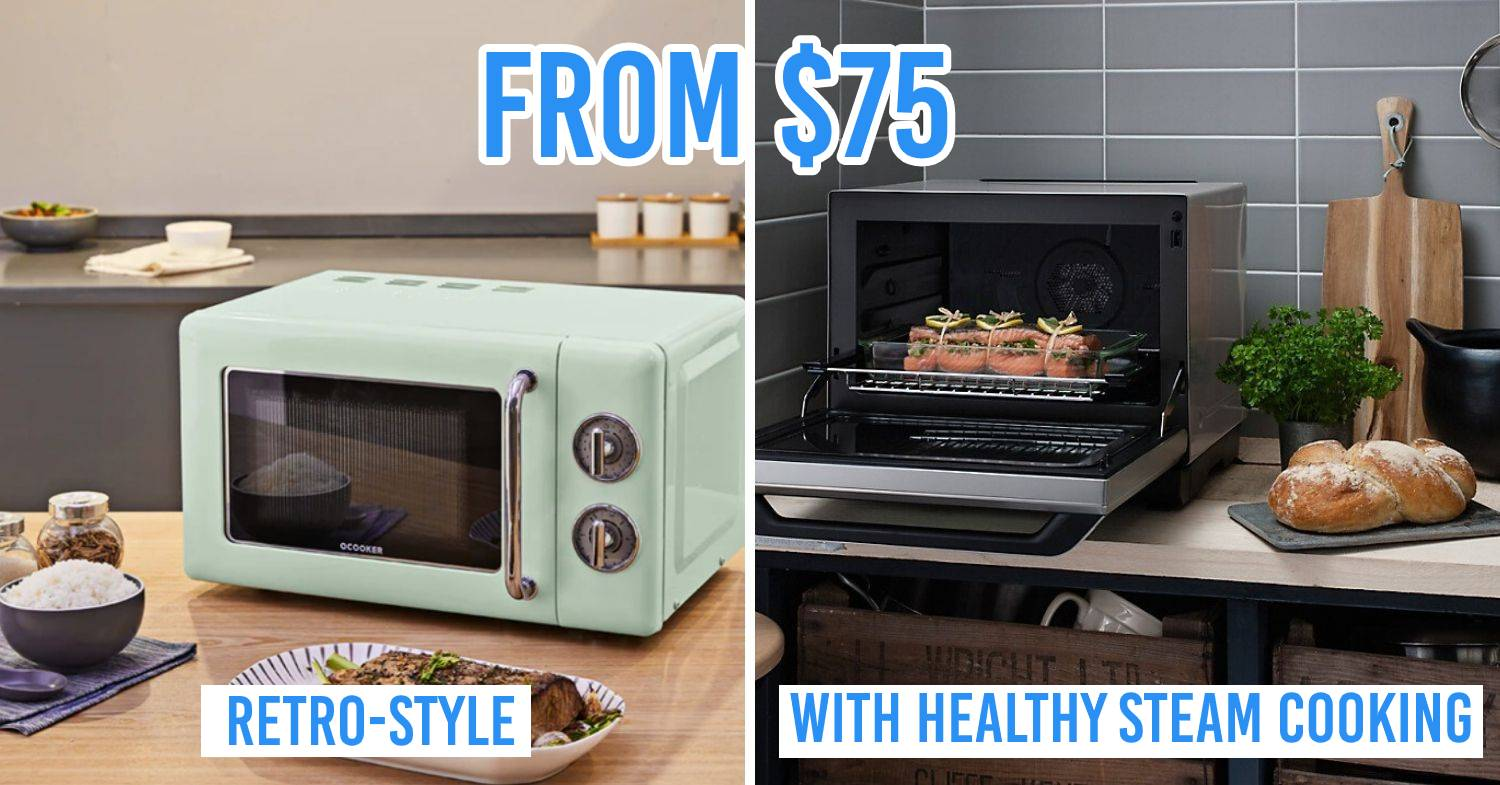 8 best microwave ovens in singapore for