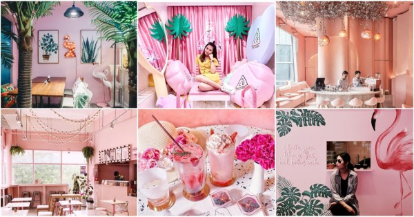 8 Pastel Pink Cafes And Shops In Bangkok For Your Next Girls' Trip