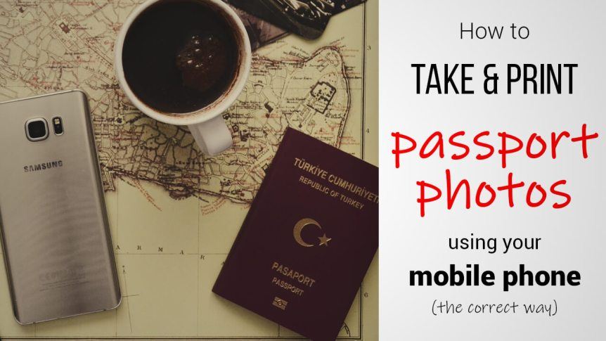 How To Take Passport Photos With Your Smartphone