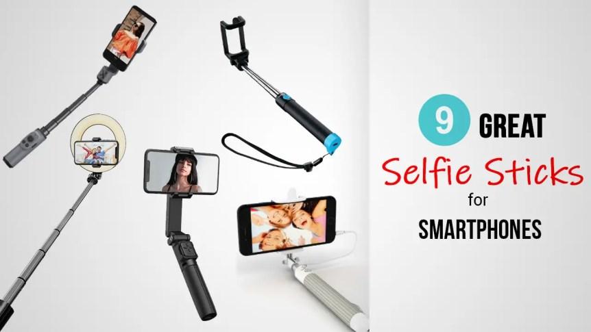 Title-9 Great Selfie Sticks For Smartphones