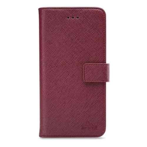 My Style Flex Wallet for Apple iPhone X/Xs Bordeaux