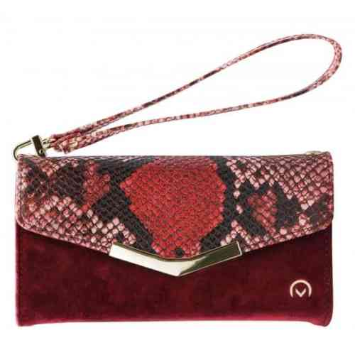 Mobilize 2in1 Gelly Velvet Clutch for Apple iPhone 12 Pro Max Red Snake