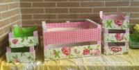 Cajas decoradas para comunión