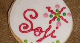 Galletas personalizadas para Sofía