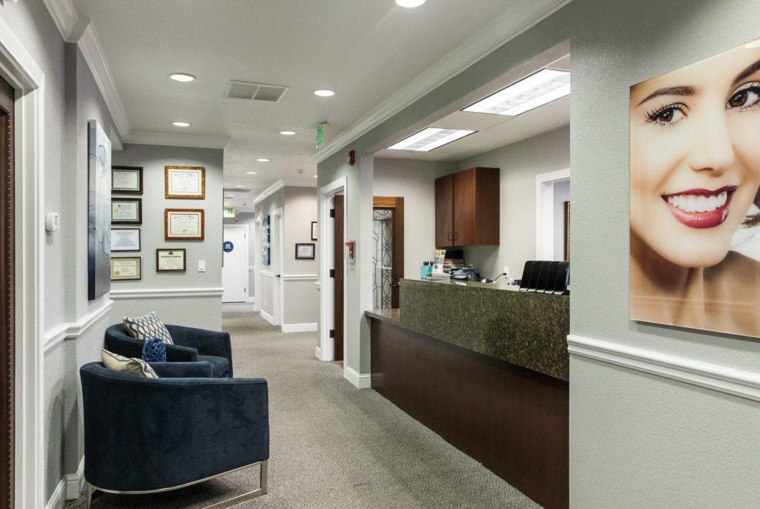 Reception at Arbor Dental Group