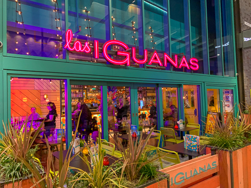 Exterior of Las Iguanas Bracknell at the Lexicon