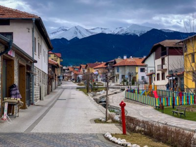 Bansko Old Town in Bulgaria