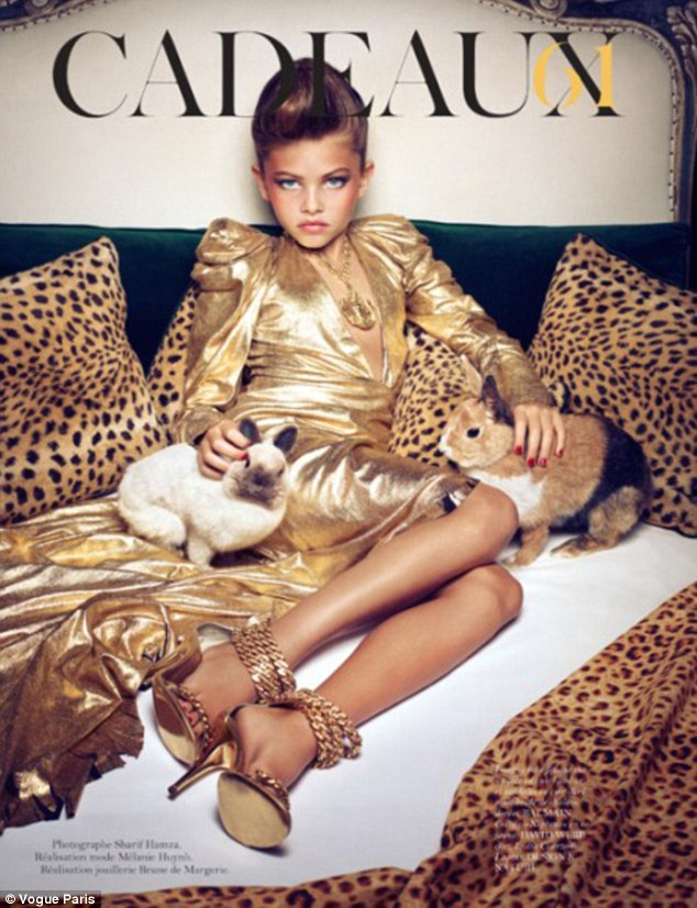 Thylane Blondeau for Vogue Paris