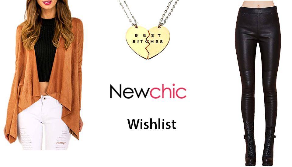 newchic wishlist