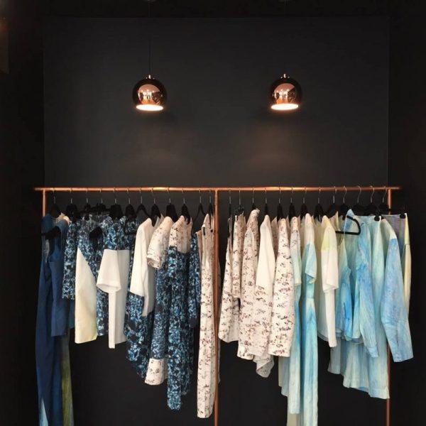 Louise Korner clothes on a hanger