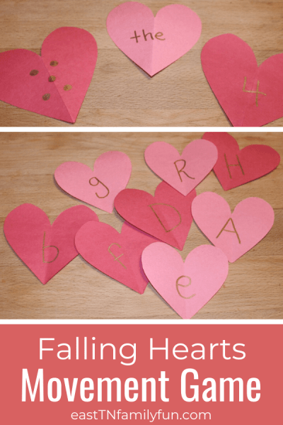 Fun Valentine's Day Game for Kindergarten and Preschool
