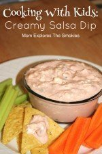 Cooking With Kids: Creamy Salsa Dip