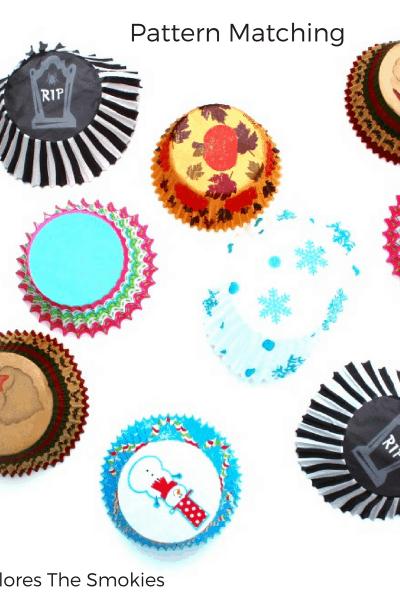Cupcake Liner Pattern Match
