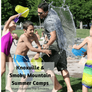 Knoxville and Smoky Mountain Summer Camps, Mom Explores The Smokies