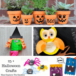 25 + Unique and Fantastic Halloween Crafts