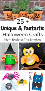 25 + Unique and Fantastic Halloween Crafts, Mom Explores The Smokies