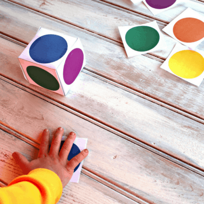 Color Matching Dice Games for Kids