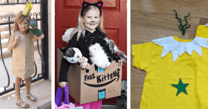 DIY Princess, Kitten, and Sneetch Halloween Costume
