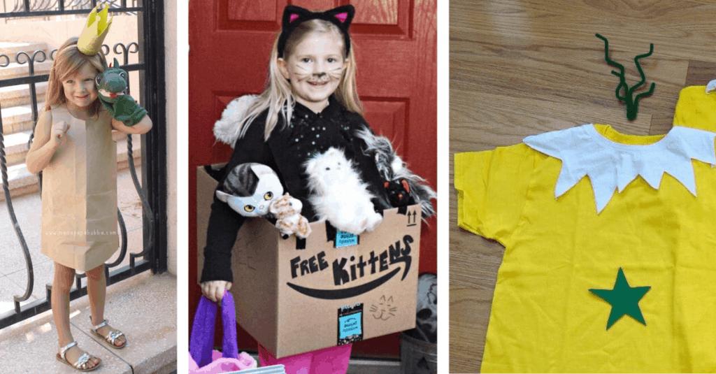 DIY Princess, Kitten, and Sneetch Halloween Costume