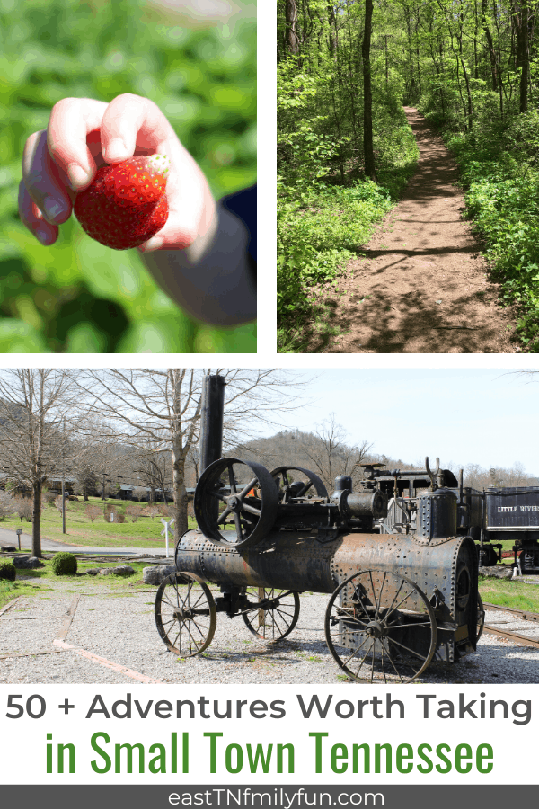 50 + Small Town Tennessee Adventures Worth Taking
