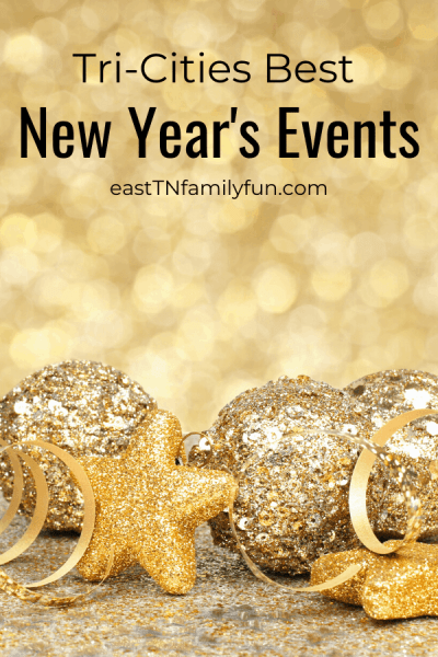 New Year's Events in Johnson City TN, Kingsport, Bristol, and Tri-Cities TN
