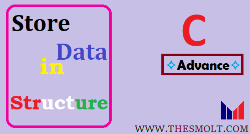 Store data using structure in C