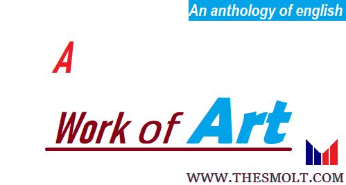 A work of Art story by Anton Chekhov