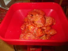 Cooked tomatoes for passata