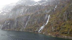 Snow-melt fed the streams