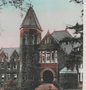 Photo courtesy Touchstone 1930 MU's library in 1930.