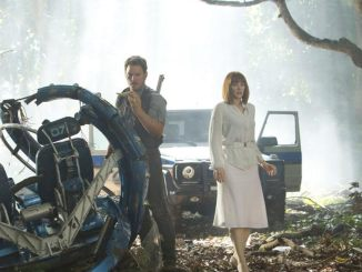 """""""Jurassic World"""" is like a conversation among a group of old friends.(Photo courtesy of"""