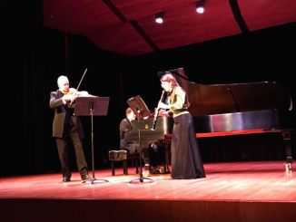 Xun Pan and the Trio Clavino played at Steinman Hall. (Jessica Boyer/Snapper)