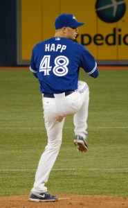 J. A. Happ was acquired by the Blue Jays.