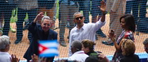 Obama is the first President to visit Cuba since Calvin Coolidge.