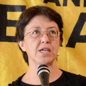 Party of Socialism and Liberation candidate Gloria La Riva. Photo via Twitter